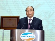 Insta premier vietnamita a Viettel a esforzarse para ser grupo líder mundial en telecomunicaciones