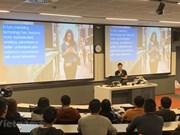 Estudiantes vietnamitas en Australia se actualizan en macrodatos
