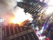 Graves daños tras incendio en Chatuchak, mercado más conocido en Tailandia