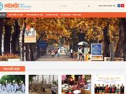 Inauguran en Vietnam sitio web sobre cultura de Hanoi y sus habitantes