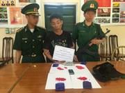 Arrestan narcotraficante laosiano en provincia vietnamita de Thanh Hoa