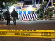 Capturan en Indonesia terrorista herido al detonar la bomba que portaba