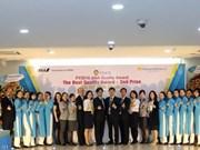 Empresa de servicios terrestres aeroportuarios de Vietnam recibe premio por su calidad