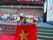 Obtienen pesistas vietnamitas tres medallas de oro en campeonato mundial juvenil
