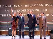 Celebran en Ciudad Ho Chi Minh el Día de la Independencia de Estados Unidos