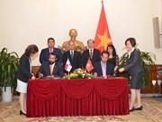 Firman Vietnam y Panamá acuerdo de exención de visado para titulares de pasaportes ordinarios