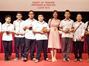 Ganan estudiantes vietnamitas cinco medallas de oro en Olimpiada Matemática del Asia-Pacífico