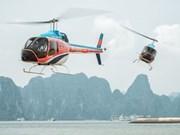 Promueve CNN vuelo escénico en helicóptero por la bahía vietnamita de Ha Long