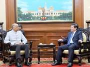 Destacan aumento de la cooperación entre Ciudad Ho Chi Minh y la India