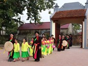 Celebrarán en Vietnam Festival de Patrimonios Intangibles mundiales