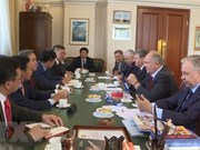 Fortalecen cooperación entre partidos comunistas de Vietnam y Rusia