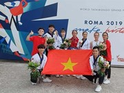 Obtienen taekwondokas vietnamitas medallas en Grand Prix de Roma