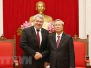 Vietnam y República checa robustecen relaciones partidistas