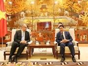 Busca Hanoi fortalecer cooperación con Dinamarca en diversas áreas