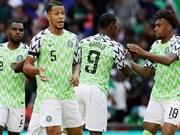 Jugará selección de Vietnam un partido amistoso con Nigeria