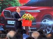 Inauguran en Vietnam fábrica de automóviles VinFast