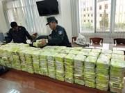 Desmantelaron fuerzas policiales de Vietnam y Camboya mil 500 casos de narcotráfico transfronterizo en 2018