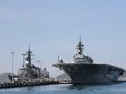 Visitan Vietnam buques de las Fuerzas Navales de Autodefensa de Japón