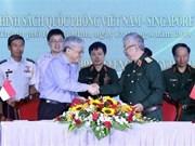 Realizan en Ciudad Ho Chi Minh diálogo de políticas de defensa Vietnam-Singapur