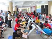 Donan más de mil 500 unidades de sangre durante campaña voluntaria en Vietnam