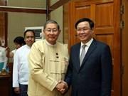 Vietnam se convierte en noveno socio comercial de Myanmar