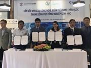 Impulsan cooperación entre Vietnam y Corea del Sur en biotecnología