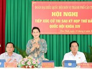 Ratifica máxima legisladora de Vietnam determinación de fortalecer la lucha anticorrupción