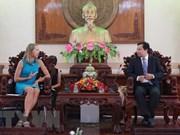 Extiende provincia vietnamita de Can Tho cooperación con Estados Unidos