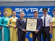 Certifican calidad de Vietnam Airlines como aerolínea de cuatro estrellas