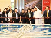 Facilitará Vietnam inversiones de Emiratos Árabes Unidos