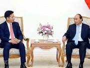 Aboga en Hanoi premier de Vietnam por incremento de inversiones del grupo japonés AEON