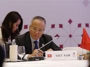 Ministros de Economía de ASEAN esperan concluir las negociaciones de RCEP a fines de este año