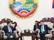 Vietnam y Laos incrementen cooperación e inversión