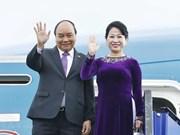 Premier vietnamita llega a Bangkok para participar en la 34 Cumbre de la ASEAN