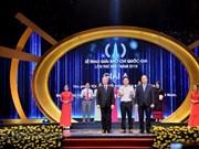 Honran en Hanoi a 106 obras destacadas en Premio Nacional de Prensa de Vietnam