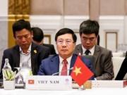 Vietnam asiste a Conferencia de Cancilleres de ASEAN en Bangkok