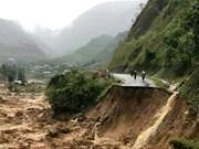 Reportan en Vietnam cuatro personas desaparecidas tras inundaciones repentinas