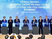 Entra en servicio en Hanoi sistema informativo para actividades del Gobierno de Vietnam