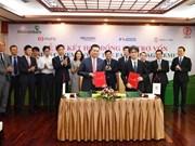 Bancos de Vietnam y Japón firman contrato para proyectos de energía renovable