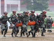 Intensifican cooperación unidades de zapadores  de Vietnam y Camboya