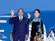 Llega primer ministro vietnamita a Osaka para participar en la Cumbre del G20