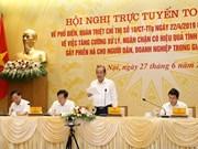 Fortalecen en Vietnam lucha contra la corrupción en la administración pública