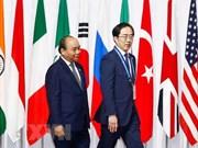 Primer ministro vietnamita se reúne con ejecutivos de grandes empresas tecnológicas japonesas