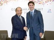 Premier vietnamita se reúne con líderes mundiales al margen de Cumbre del G20