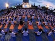 Celebran en ciudad vietnamita de Da Nang el Día Internacional de Yoga 2019