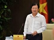Vicepremier vietnamita Trinh Dinh Dung visitará los EAU y Tanzania