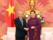 Visitan Vietnam altos funcionarios de Liga Nacional para la Democracia de Myanmar