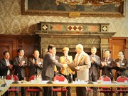 Acuerdan localidades de Vietnam y Alemania incrementar cooperación