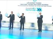 Inauguran en Vietnam fábrica de envases de papel con inversión sueca