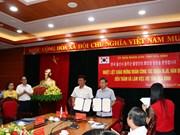 Firman acuerdo de cooperación localidades de Vietnam y Corea del Sur